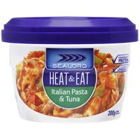 Sealord Italian Pasta Heat & Eat Meal 200g