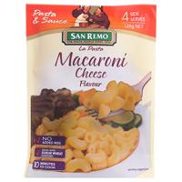 San Remo Pasta & Sauce La Pasta Macaroni Cheese 120g