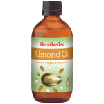 Healtheries Cold Pressed Almond Oil 200ml