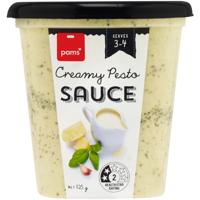 Pams Creamy Pesto Pasta Sauce 325g
