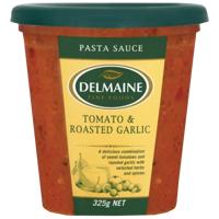 Delmaine Tomato & Roasted Garlic Pasta Sauce 325g