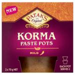 Patak's Korma Mild Paste Pots 70g