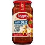 Leggo's Roasted Garlic Chunky Tomato & Onion Pasta Sauce 500g