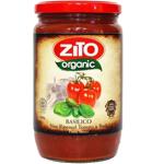 Zito Organic Vine Ripened Tomato & Basil Pasta Sauce 690g