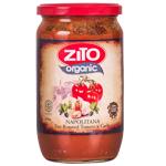 Zito Organic Fire Roasted Tomato & Garlic Pasta Sauce 690g