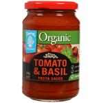 Chantal Organics Organic Tomato & Basil Pasta Sauce 340g