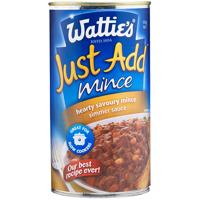 Wattie's Just Add Mince Hearty Savoury Simmer Sauce 550g