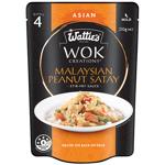 Wattie's WOK Creations Peanut Satay Stir Fry Sauce 210g