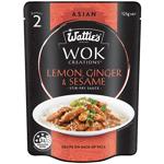 Wattie's Wok Creations Stir-Fry Sauce Lemon Ginger & Sesame 125g