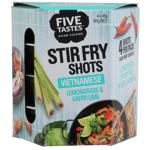 Five Tastes Vietnamese Lemongrass & Kaffir Lime Stir Fry Shots 180g