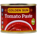 Golden Sun Tomato Paste 210g