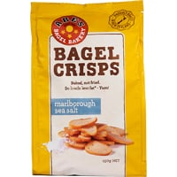 Abe's Marlborough Sea Salt Bagel Crisps 150g