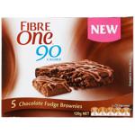 Fibre One Chocolate Fudge Brownies 5pk