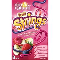 Nice & Natural Fruit Strings Berry Pack 8pk