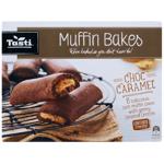 Tasti Muffin Bakes Choc Caramel Bars 6pk