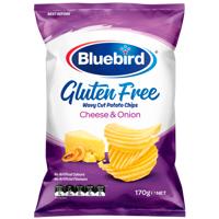 Bluebird Gluten Free Potato Chips Cheese & Onion 170g