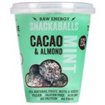 Tom & Luke Cacao Mint & Almond Snackaballs 224g