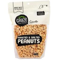 Graze Roasted Salted Peanuts 800g