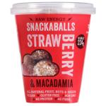 Tom & Luke Strawberry & Macadamia Snackaballs 224g