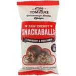 Tom & Luke Strawberry & Macadamia Snackballs 70g