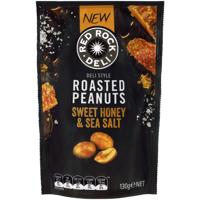 Red Rock Deli Sweet Honey & Sea Salt Roasted Peanuts 130g