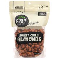 Graze Sweet Chill Almonds 425g