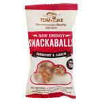 Tom & Luke Cranberry & Cashew Snackballs 70g