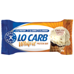 Aussie Bodies Lo Carb Whip'd English Toffee Protein Bar 30g