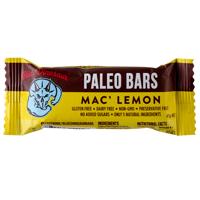 Blue Dinosaur Mac' Lemon Paleo Bar 45g