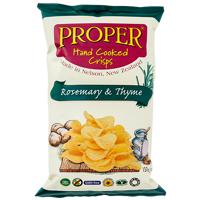 Proper Crisps Hand Cooked Rosemary & Thyme Potato Crisps 150g