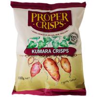 Proper Hand Cooked Kumara Chips 100g