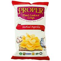 Proper Crisps Hand Cooked Smoked Paprika Crisps 150g