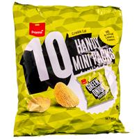 Pams Green Onion Potato Chips Multipack 10pk