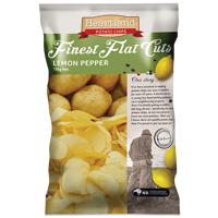 Heartland Lemon Pepper Finest Flat Cuts Potato Chips 150g