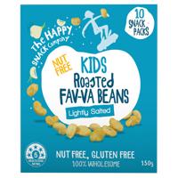 The Happy Snack Company Kids Lightly Salted Roasted Fav-va Beans 10pk