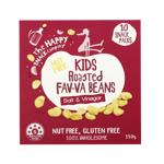 The Happy Snack Company Kids Salt & Vinegar Roasted Fav-va Beans 10pk