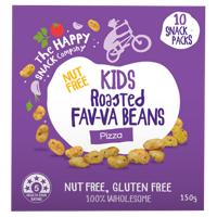 The Happy Snack Company Kids Pizza Roasted Fav-va Beans 10pk