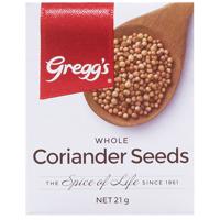 Gregg's Whole Coriander Seeds 21g