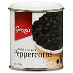 Gregg's Whole Black Peppercorns 100g