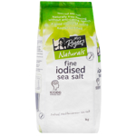 Mrs Rogers Iodised Fine Sea Salt 1kg