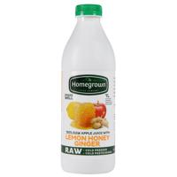 Homegrown Lemon Honey Ginger Juice 1l