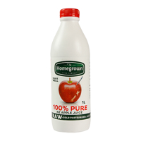 Homegrown 100%  Apple Juice 1l