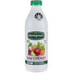 Homegrown Raw Energy Raw Vegetable & Fruit Juice 1l
