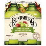 Bundaberg Apple Cider Brewed Soft Drink 4pk