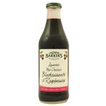 Barker's Blackcurrant & Raspberry Fruit Syrup 710ml