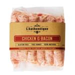 L'Authentique Chicken & Bacon Sausages 280g