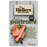 Hellers Seasoned Pastrami Shaved Twin Pack 0.2kg