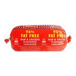 Hutton's 95% Fat Free Ham & Chicken Flavoured Luncheon 500g