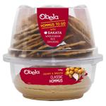 Obela Creamy & Smooth Hummus With Sataka Wholegrain Rice Crackers 125g