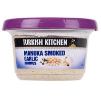 Turkish Kitchen Manuka Smoked Garlic Hummus 350g